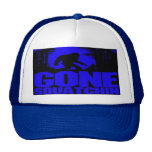 Funny Gone Squatchin Hat - New Limited Edition