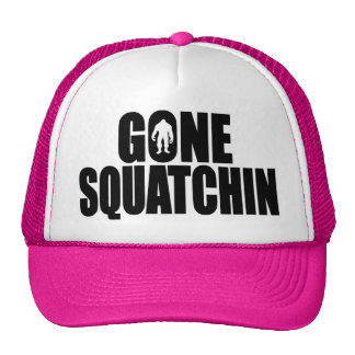 Funny GONE SQUATCHIN HAT - Special BOBO Edition