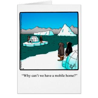 "Funny Good Trip ""Mobile Home"" Humor Greeting Card"