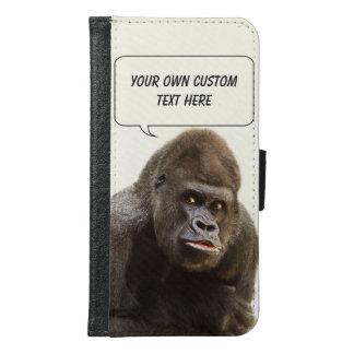 Funny Gorilla custom monogram case wallets
