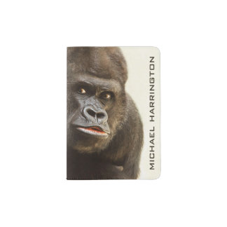 Funny Gorilla custom passport cover