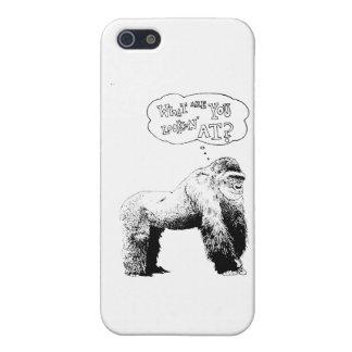 Funny Gorilla iPhone 5/5S Cover