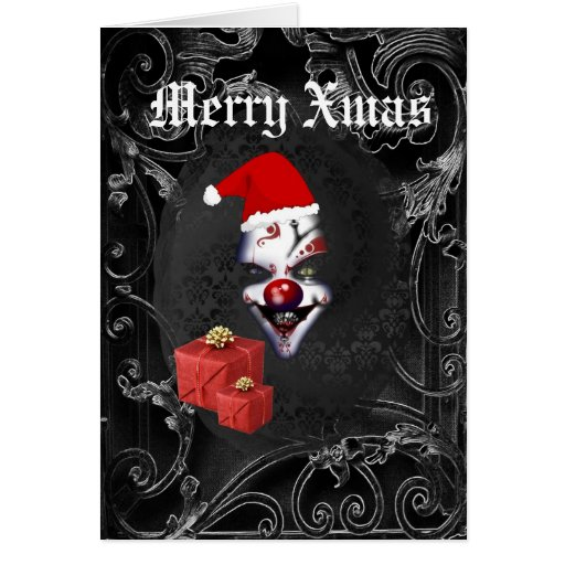 Funny  gothic  Christmas Greeting Cards