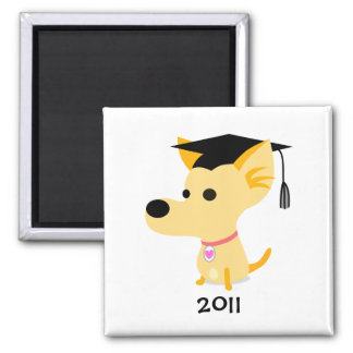 Funny Graduation Dog Magnet