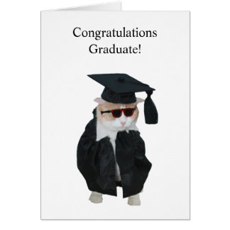Funny Graduation Greeting Card
