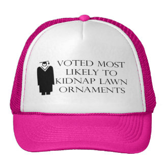 Funny Graduation T-shirts and Gifts Mesh Hat