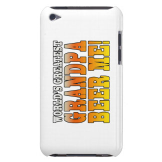 Funny Grandfathers Worlds Greatest Grandpa Beer Me iPod Touch Cover