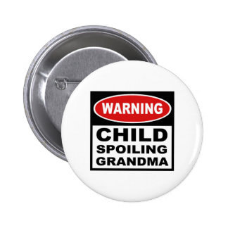 Funny Grandma 6 Cm Round Badge