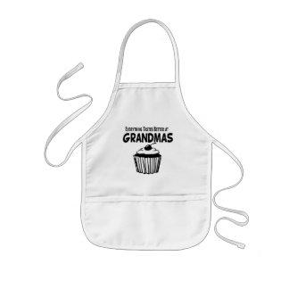 Funny Grandma Cupcake Kids' Apron