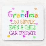 Funny Grandma Gift Mousepad