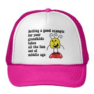 Funny Grandma Mesh Hats