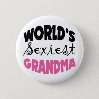 Funny Grandmother Gift 6 Cm Round Badge