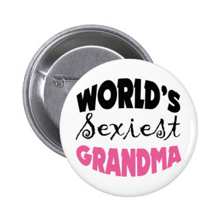 Funny Grandmother Gift Buttons