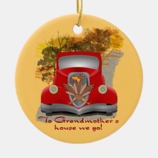 Funny Grandmothers House Christmas Ornament