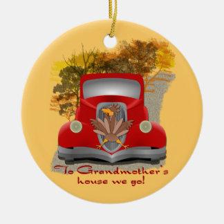 Funny Grandmothers House Christmas Ornament