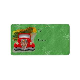 Funny Grandmother's House Gift Label Address Label
