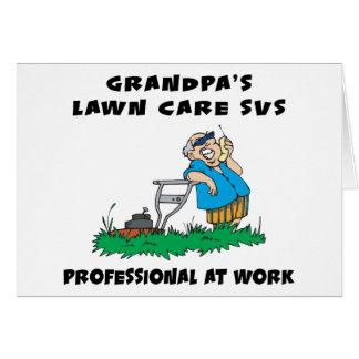 Funny Grandpa Gift Greeting Card