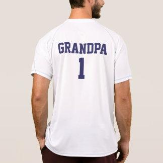 Funny Grandpa personalized sports jersey Tshirt