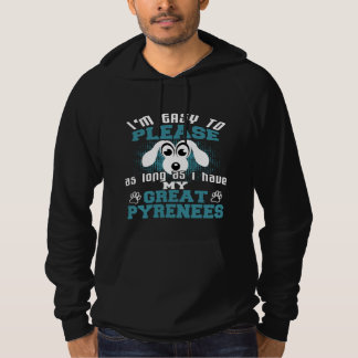 Funny Great Pyrenees Dog Owners Hoodie