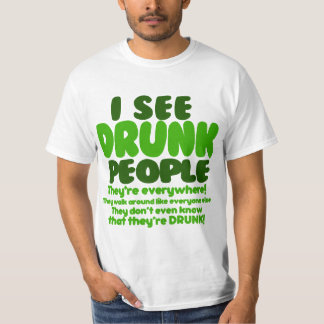 Funny Green Beer Day Humor T-Shirt