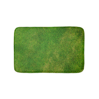 Funny Green Grass Bath Mat