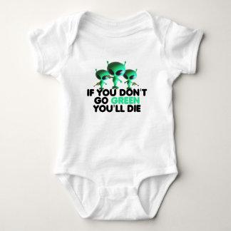 Funny green tee shirt