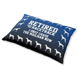 Funny Greyhounds Retired from the Racetrack Pet Bed
