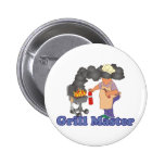 Funny Grill Master Pin