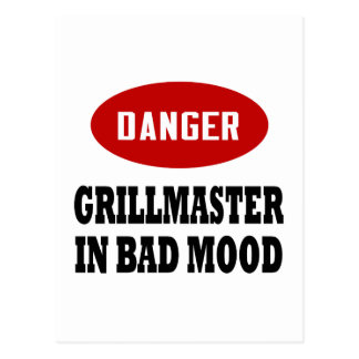 Funny Grillmaster Postcards