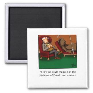 Funny Grim Reaper Dance Cartoon Fridge Magnets
