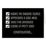 Funny Groomsmen Card -- Qualified Groomsman?