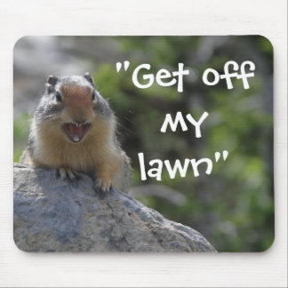 Funny Ground Squirrel Mouse Pad