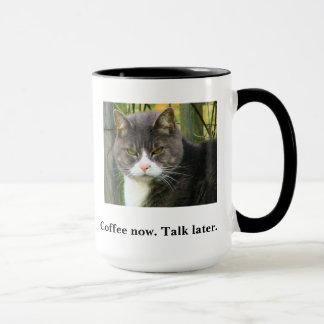 FUNNY Grumpy Cat Coffee Mug. Morning Coffee Cup. Mug