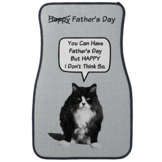 Funny Grumpy Cat Father's Day Car Mats Floor Mat
