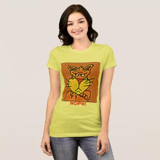 Funny grumpy cat shirt
