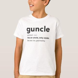 Funny Guncle Definition Print T-Shirt