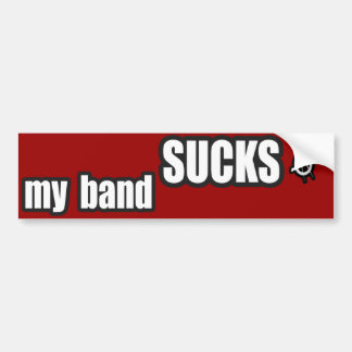 Funny guys girls Punk rock music band humor Bumper Sticker