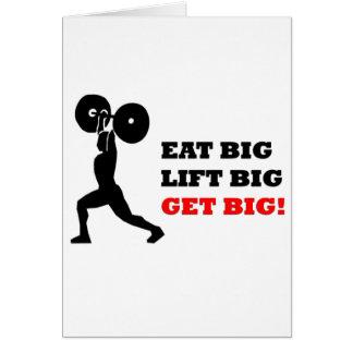 Funny Gym Design Card