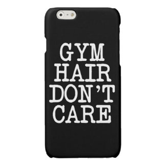 Funny Gym hair don't care phone case iPhone 6 Plus Case