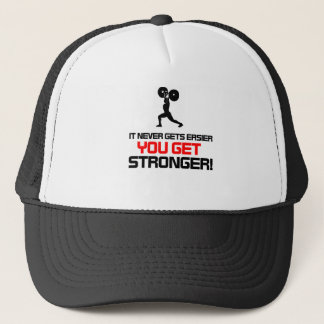 Funny Gym quote design Trucker Hat