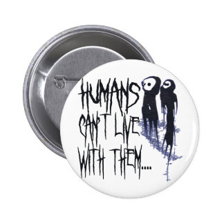 Funny Halloween Pinback Buttons
