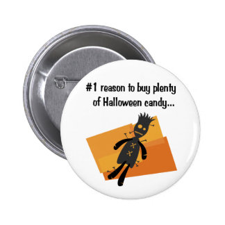 Funny Halloween button