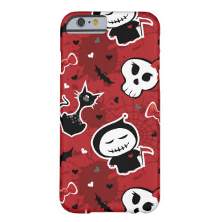 Funny Halloween Characters Pattern Barely There iPhone 6 Case