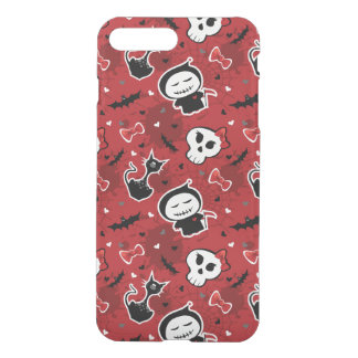 Funny Halloween Characters Pattern iPhone 8 Plus/7 Plus Case