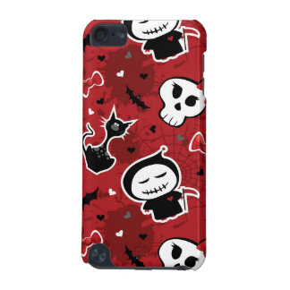 Funny Halloween Characters Pattern iPod Touch 5G Case