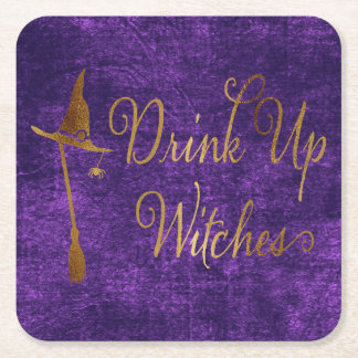 Funny Halloween Cocktail Coaster