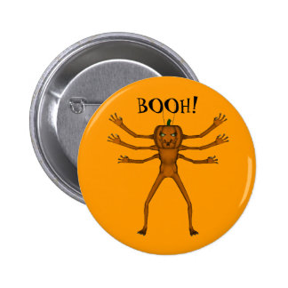 Funny Halloween Critter 6 Cm Round Badge