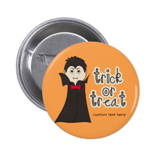Funny Halloween Dracula Scary Trick or Treat 6 Cm Round Badge