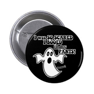 Funny Halloween Ghost 6 Cm Round Badge
