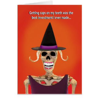 Funny Halloween Greeting Card for Her